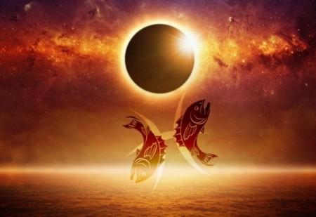 A Lua Nova em Peixes e o Eclipse Solar de 26 de Fevereiro