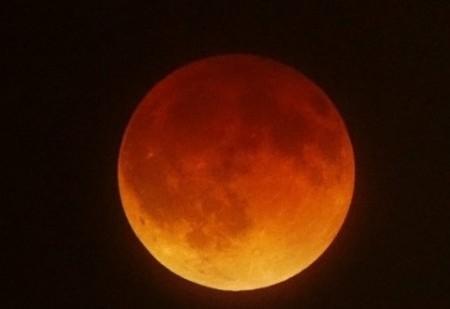 Superlua com Eclipse Lunar - 28 de Setembro de 2015