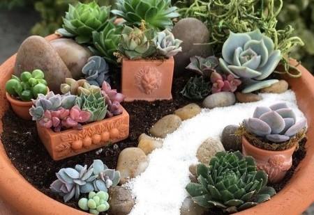 Faça um jardim zen em sua casa